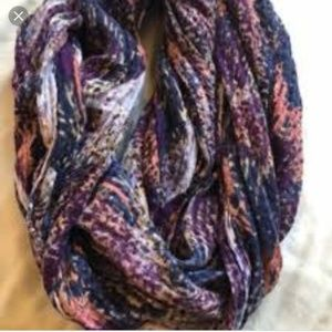 Ecote for Urban Outfitters Purple Infinty Scarf